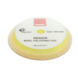 RUPES DA Yellow WOOL pad Medium 130/145mm
