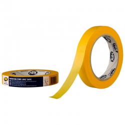 HPX Masking tape 4400 - orange 19mm x 50m