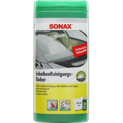 SONAX Glass Cleaning Wipes, 25 pcs