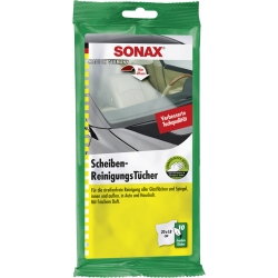 SONAX Glass Cleaning Wipes (10 pcs.)