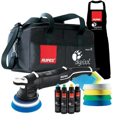 RUPES BigFoot LHR15 MARK III /DLX random orbital polisher