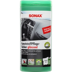 SONAX Plastic Care Wipes, 25 pcs
