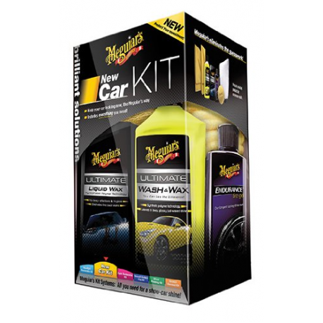 MEGUIAR'S ULTIMATE New Car Kit