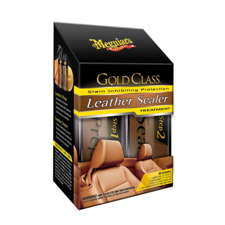 MEGUIAR'S Leather Sealer System